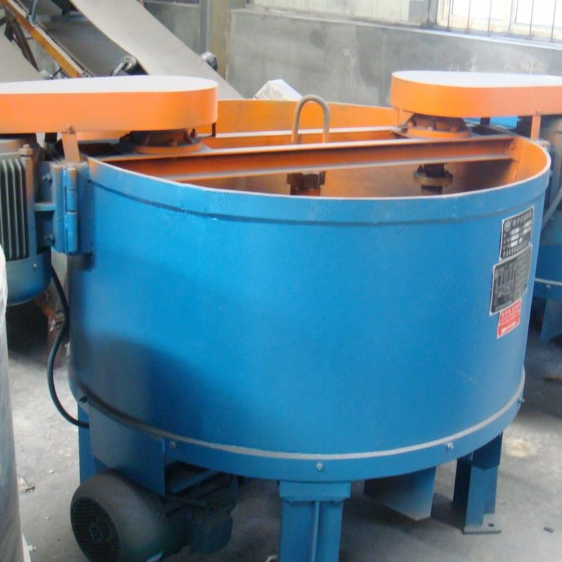Large Capacity Resin Sand Making Line Roller Sand Mixer Easy Cleaning